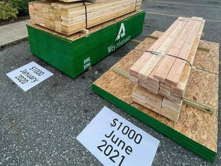 Timber Price Increases gone crazy!