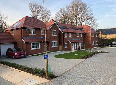 Another exchange of contracts at 3 Copse View, Four Marks