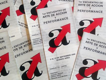 """Se cumplen 20 años del """"Primer Encuentro de Arte de Acción y Performance"""" en Buenos Aires"""