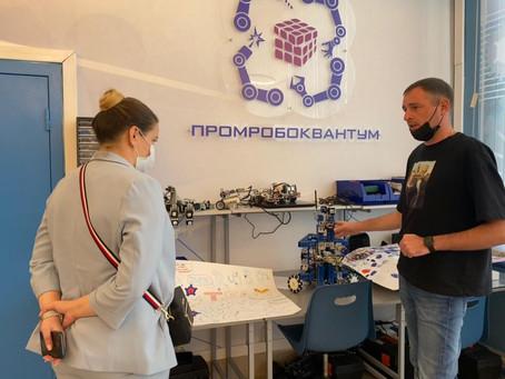 ДТ «Кванториум 42» г. Кемерово посетил Министр образования и науки Мурманской области