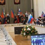 «Торжественная встреча с Губернатором Кузбасса С.Е.Цивилевым»