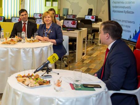 В  ДТ «Кванториум 42» состоялся пресс-ланч с начальником ДОиН Кемеровской области