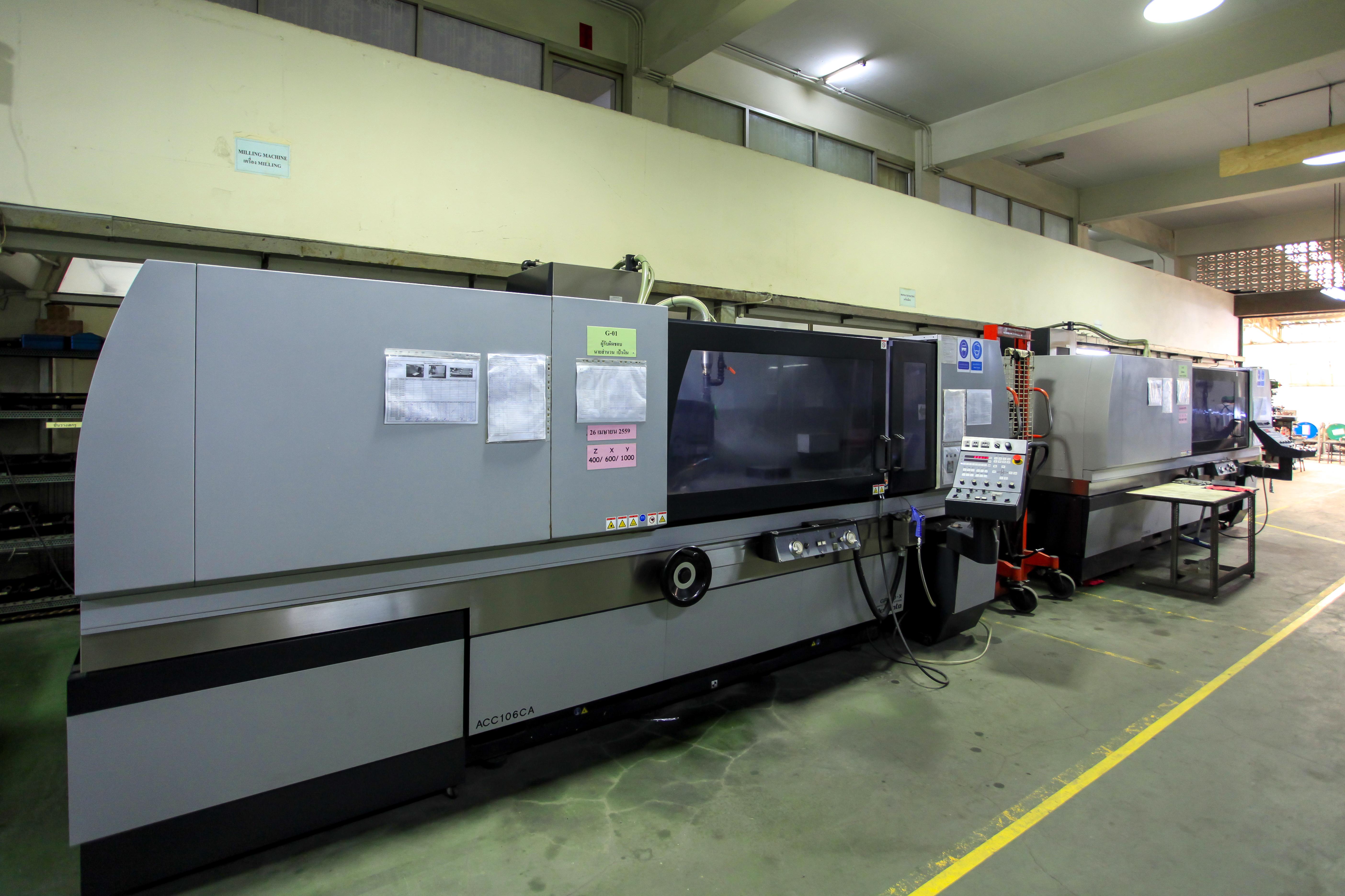Round and flat grinding machine