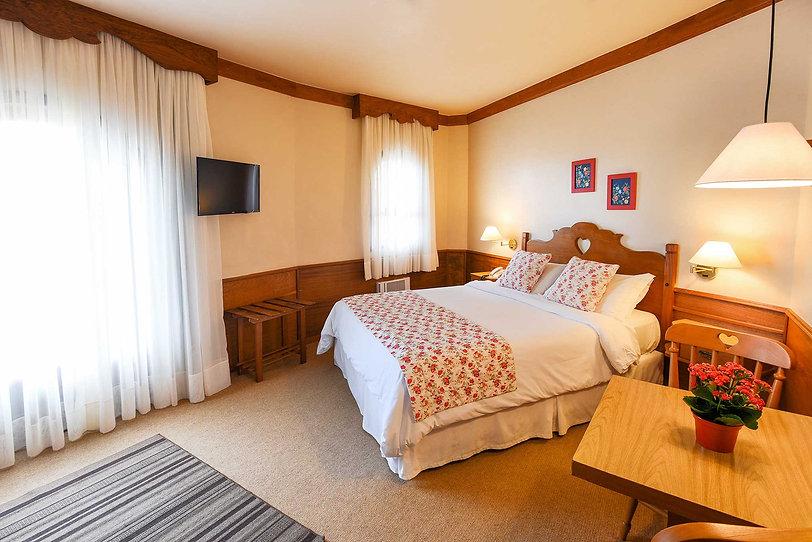 Hotel no Centro de Gramado | Ap. Hortênsias Azul | Hotel das Hortênsias