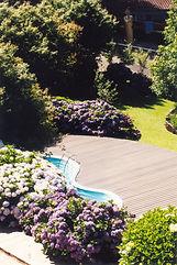 Jardim e Piscina | Hotel das Hortênsias | Gramado