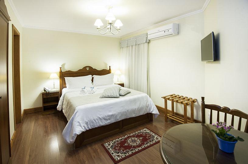 Hotel no Centro de Gramado | Ap. Hortênsias Rosa | Hotel das Hortênsias
