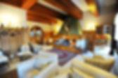 Hotel Gramado - sala da lareira Hotel Hortênsias