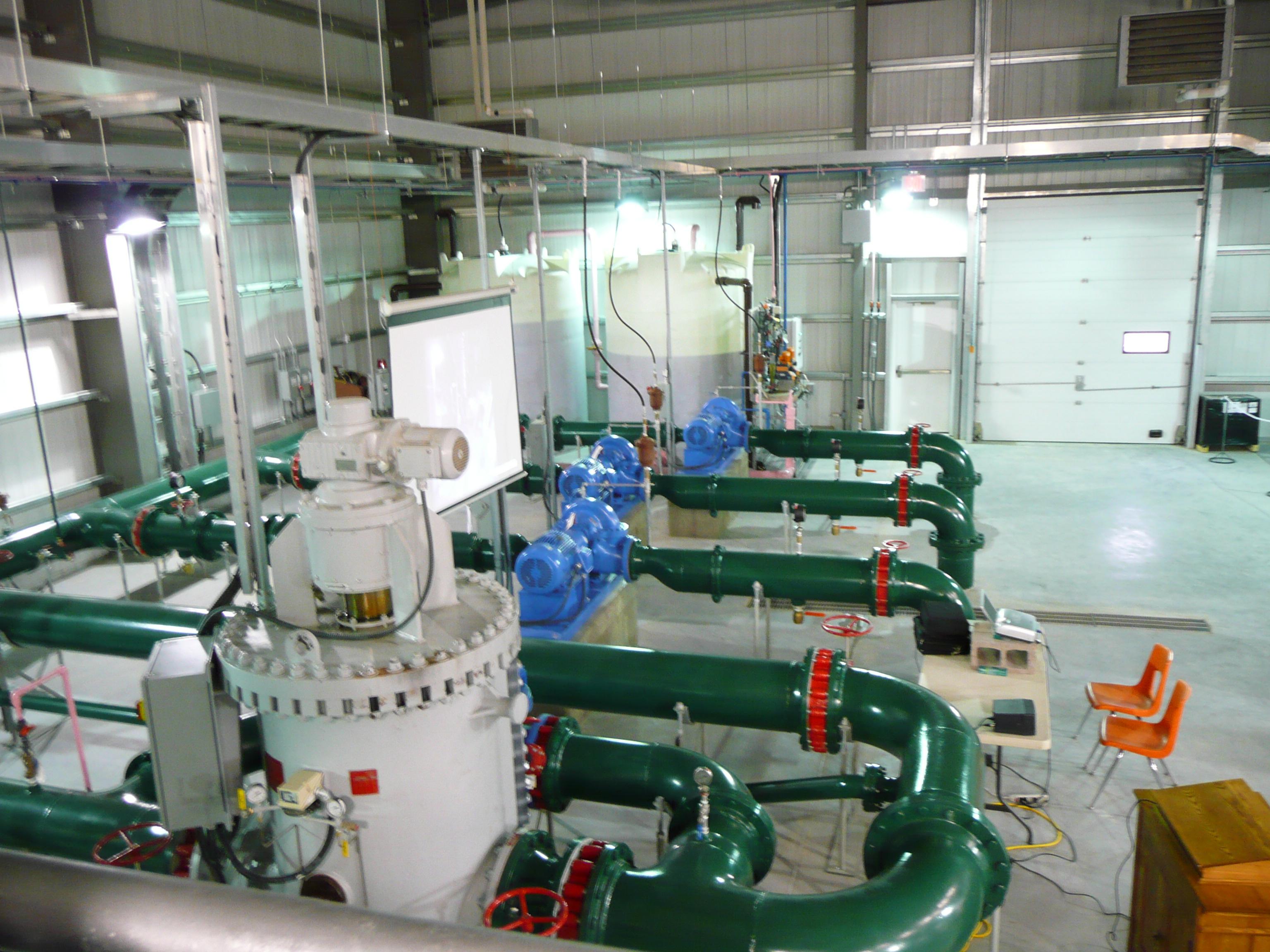 RAYMOND WATER TREATMENT PLANT