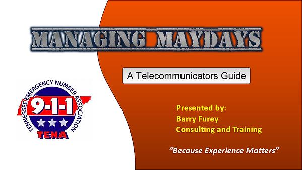 TENA MANAGING MAYDAYS  SESSION  FUREY_Pa