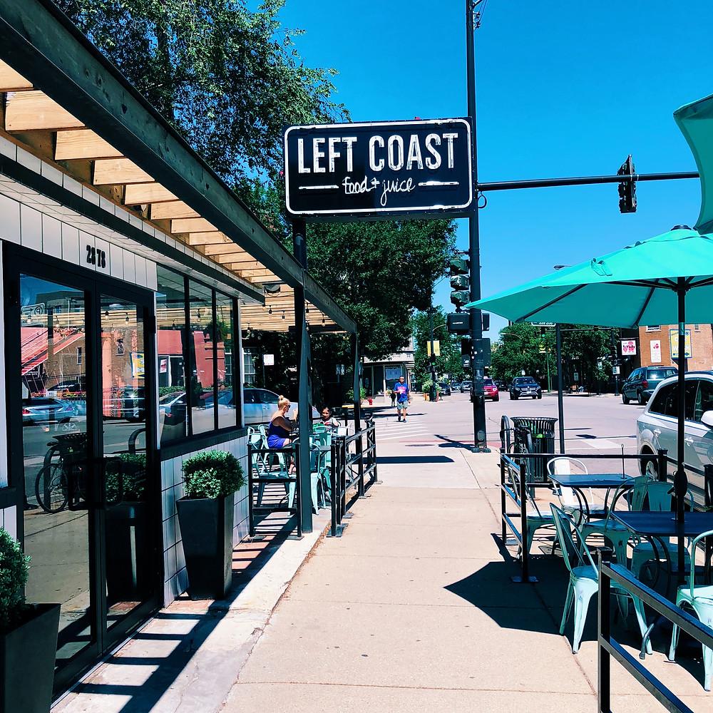Left Coast Food & Juice in Chicago