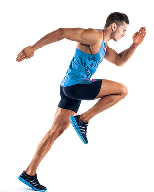 Full length portrait of a fitness man ru
