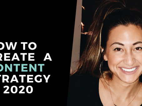 5 Tips to Create a Content Strategy in 2020