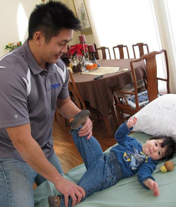 Dr. Lin and nephew
