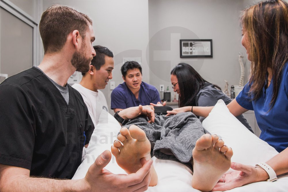 Rehab and Revive Physical Therapy Interns