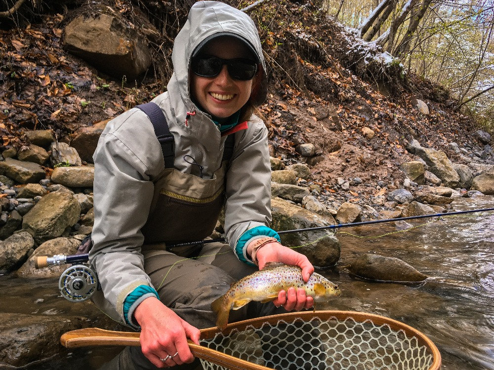 Winter Fly Fishing In Central New York
