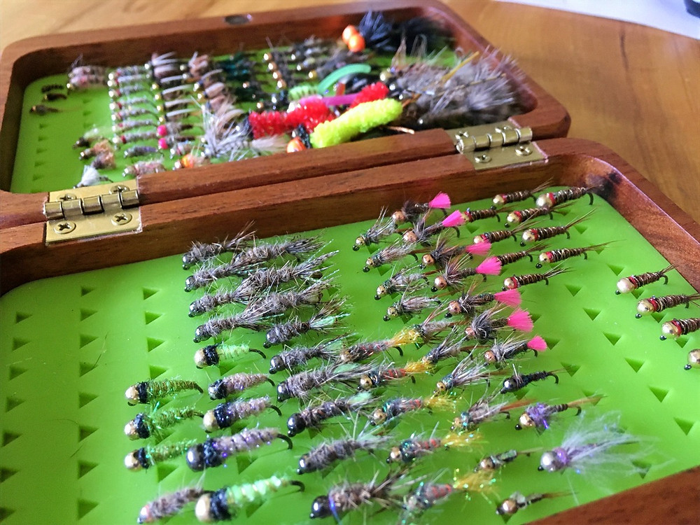 fly tying during social distancing
