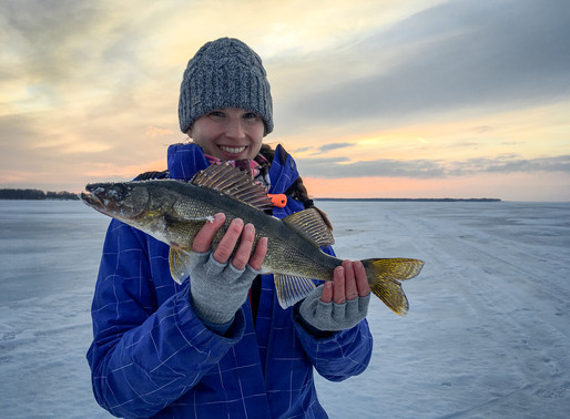 Oneida Lake Ice Fishing