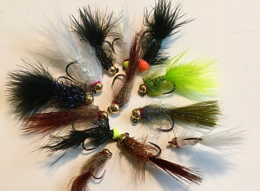 fly tying - color, size, and material matter