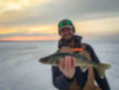 Oneida Lake Ice Fishing Guide