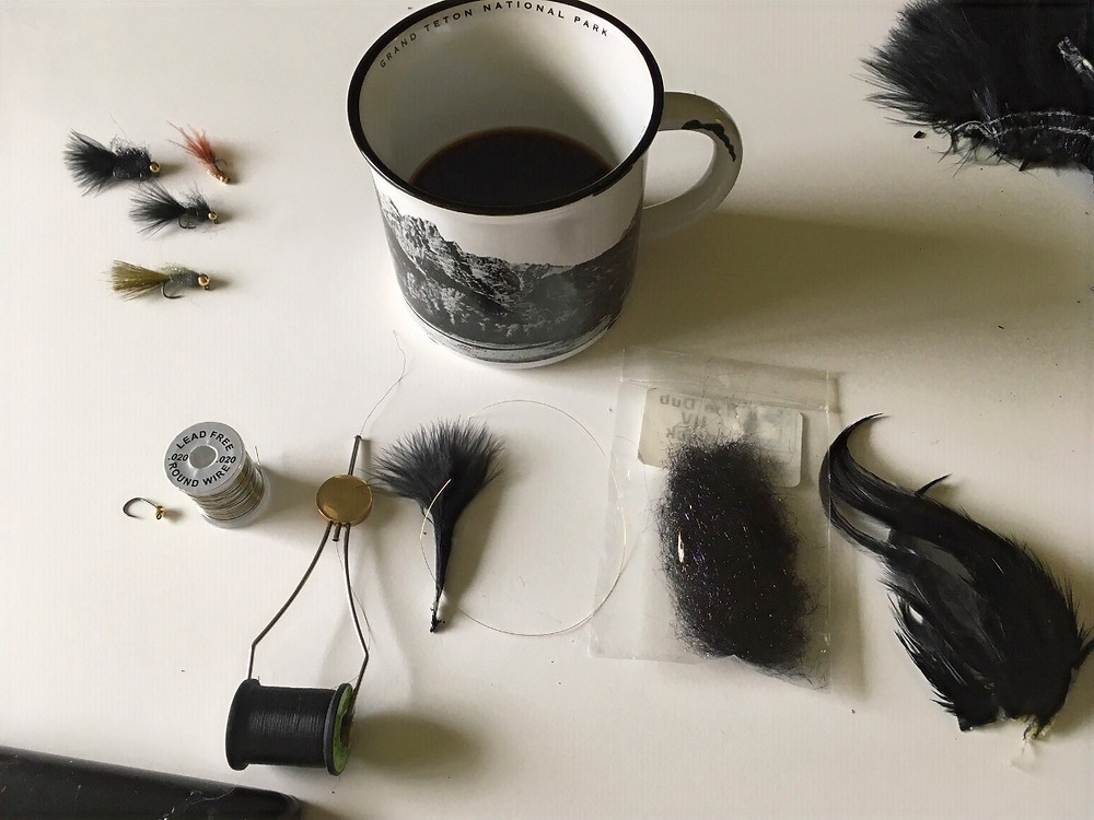 fly tying bugger materials