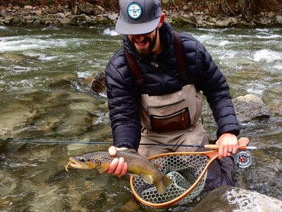 fly fishing for Central New York trout