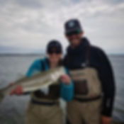 guided fly fishing trips to Cape Cod for striped bass