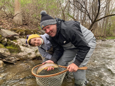 Upstate New York brown trout