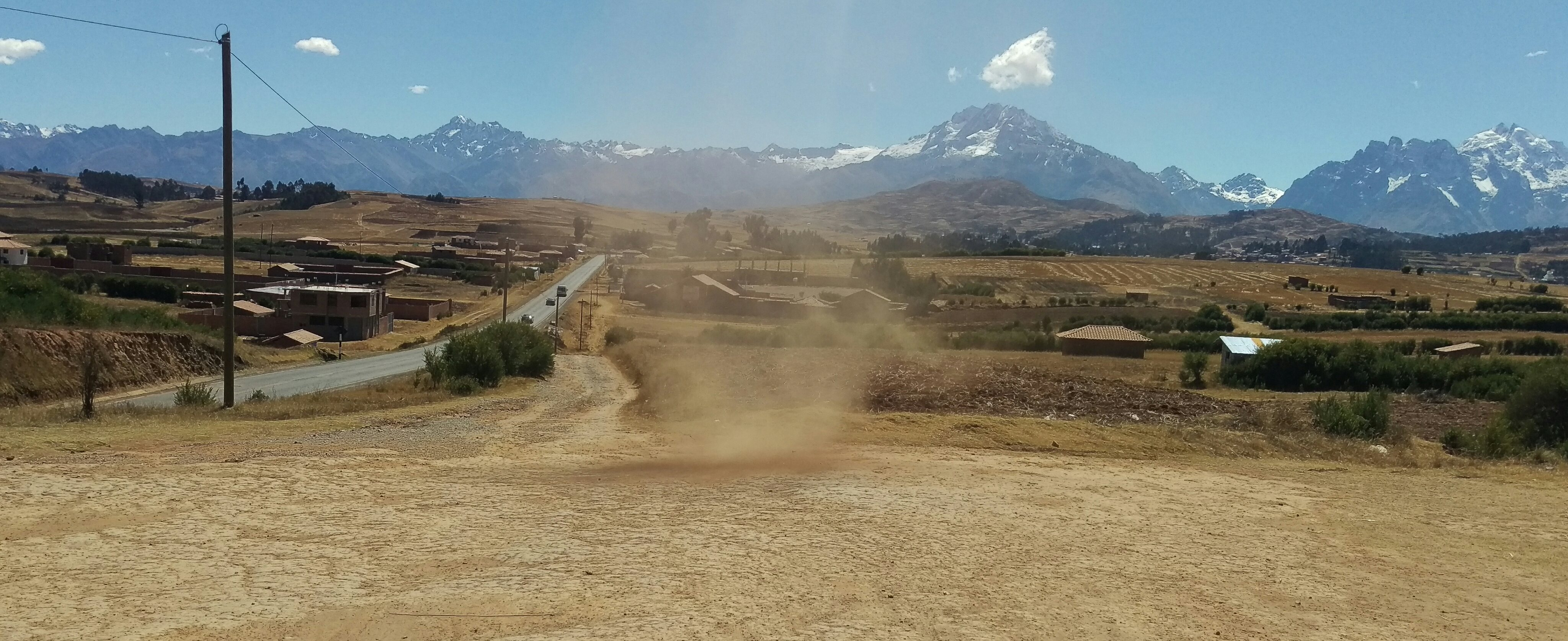 Dust Devil in the Sacred Valley