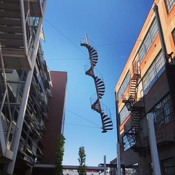 Suspended Staircase, Oklahoma