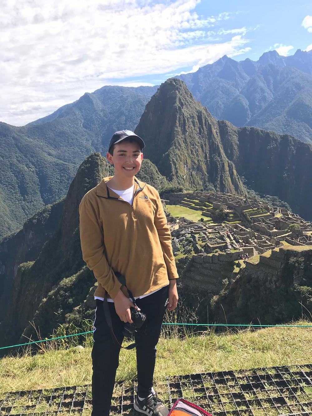 Josh Machu Pichu