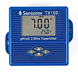 TX100 pH/ORP Loop Powered 4-20mA Transmitter