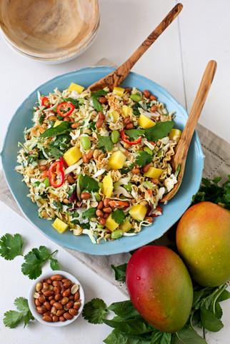 mango and ramen salad | national mango board