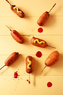 mini corndogs | ziploc