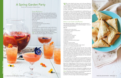 spring garden party | edible magazine