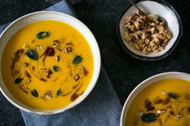 roasted butternut squash soup | jordan winery