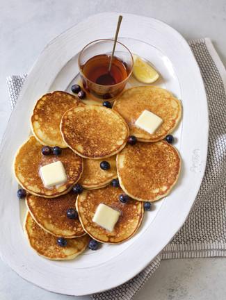 lemon ricotta pancakes | pints and plates