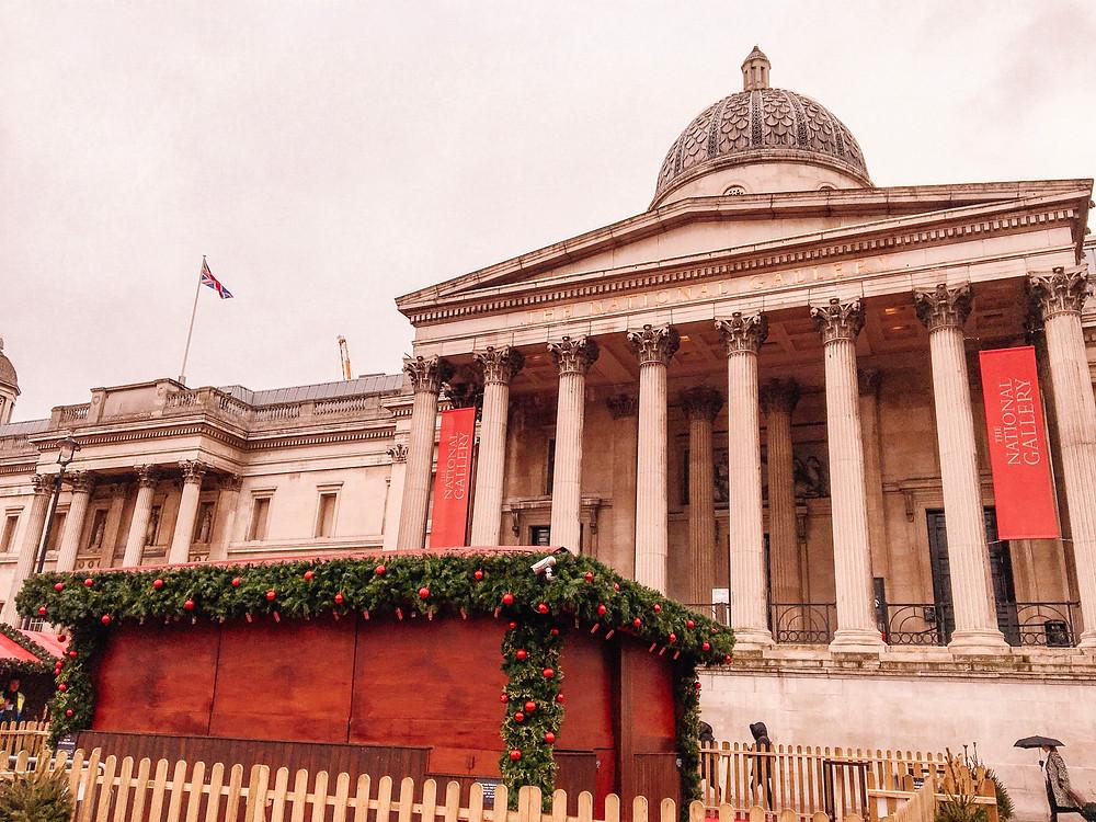 Trafalgar Square and National Gallery