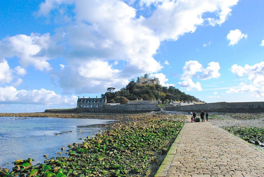 St Michael's Mount - island and castle