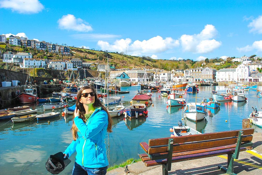 Pretty harbour of Mevagissey