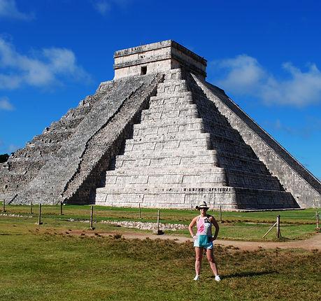Chichen Itza Mayan pyramid