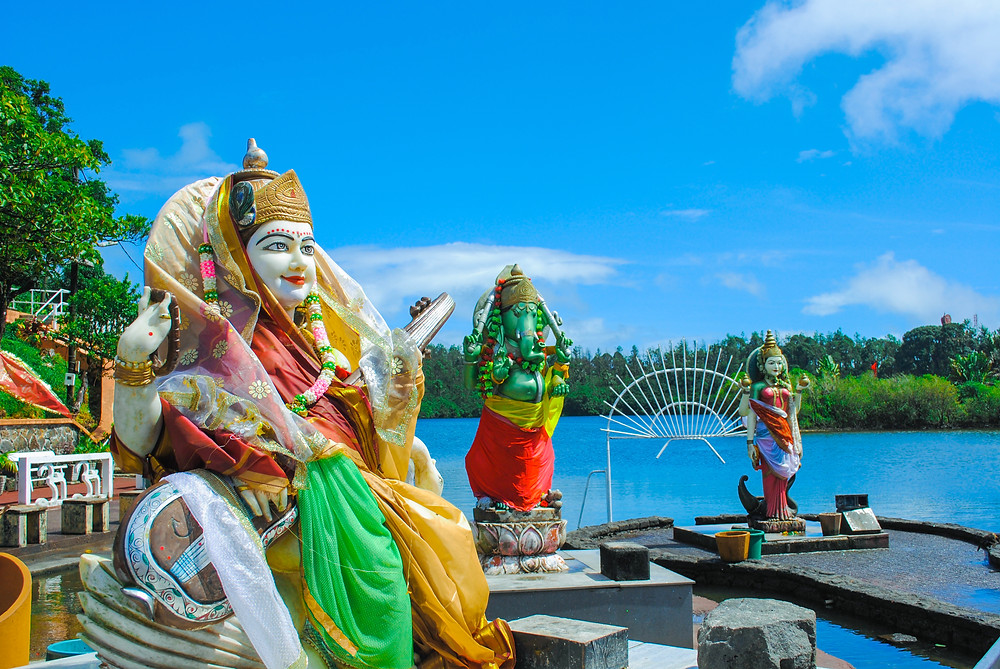 Grand Basin, holy place for Hindus in Mauritius