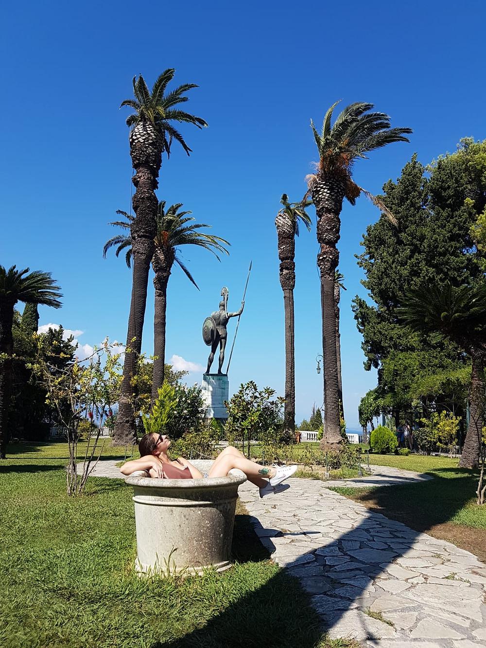 Achilleon - musem and palace, Corfu