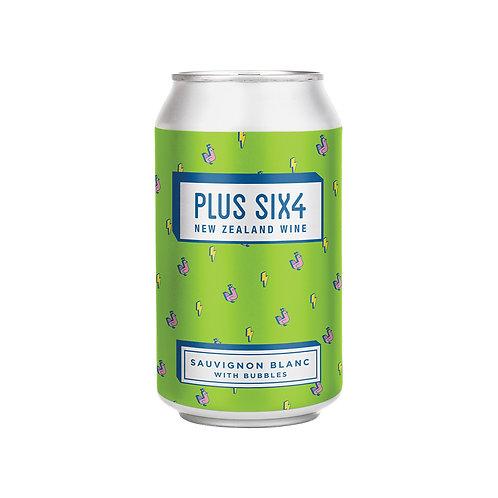 Plus Six4  Wine in a Can - Sauvignon Blanc 375ml