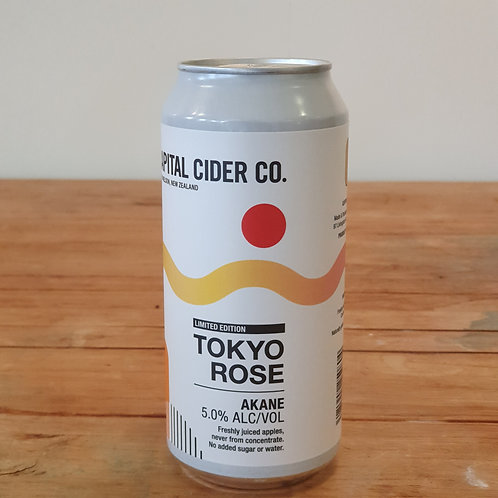 Capital Cider Company Tokyo Rose