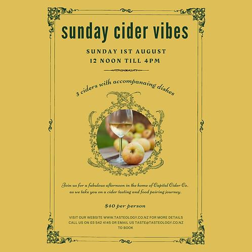 Sunday Cider Vibes Event