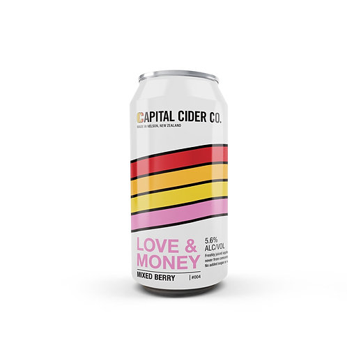 Capital Cider Company Love & Money