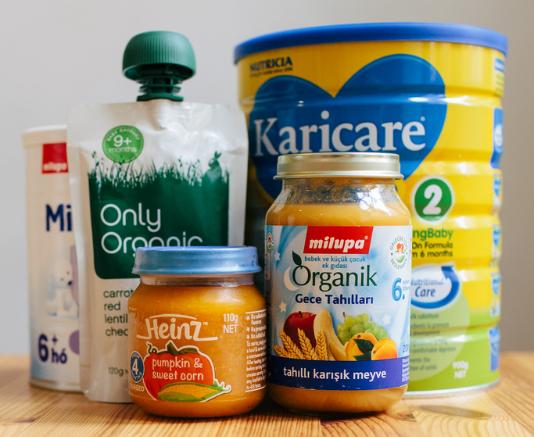 Formula and Baby Food