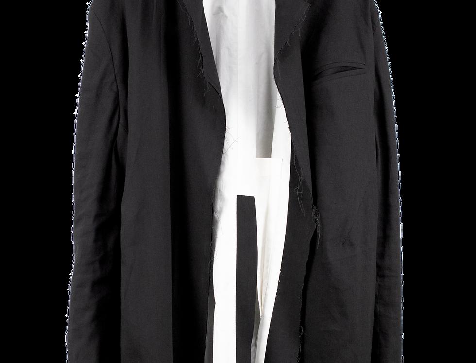 Distressed blazer