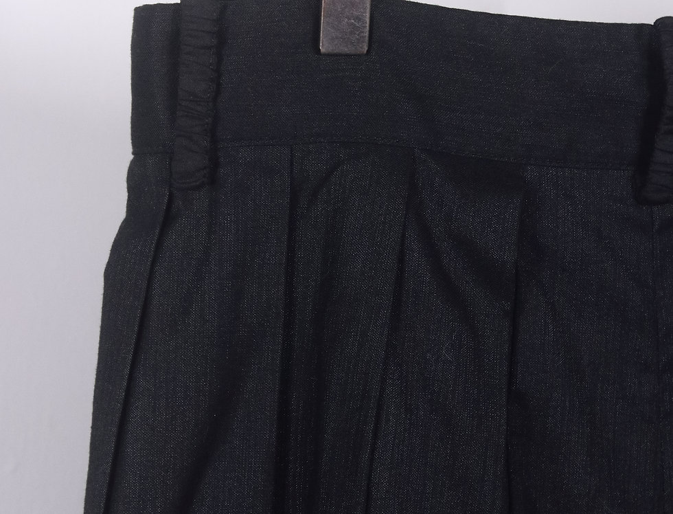 08S103 LOW- CROTCH PLEATED PANTS