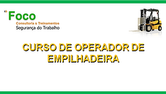 CAPA PARESENTAÇÃO CURSO OPERADOR DE EMPI